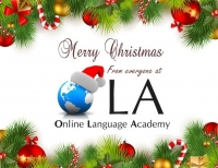Wishing our students and readers a Happy Christmas!