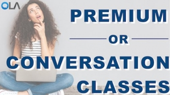 La diferencia entre las clases de conversación y las clases Premium