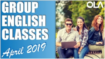 Group Class Schedule: April 2019