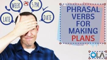 Aprende frases verbales para hacer planes