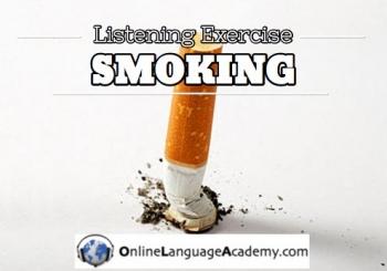 Ejercicio de listening sobre el tabaco
