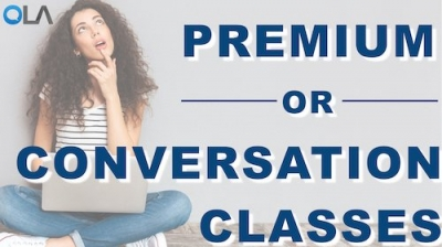 The Difference Between Conversation Classes and Premium Classes