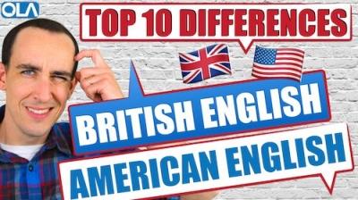 Inglés británico v inglés americano