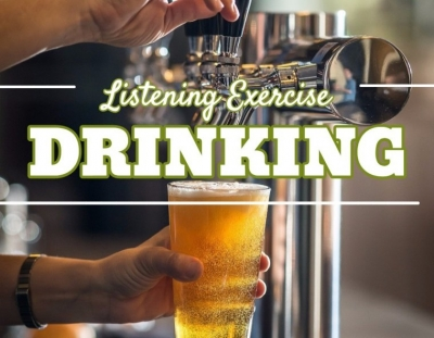 Ejercicio de listening sobre el alcohol