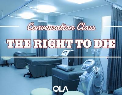 Clase de conversación sobre el derecho de morir