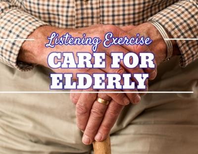 Ejercicio de listening sobre las residencias de los ancianos