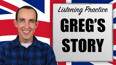 Lección de vocabulario avanzado: Greg's Story
