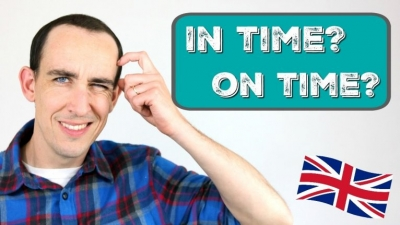 Aprende cuando usar ON TIME o IN TIME en inglés