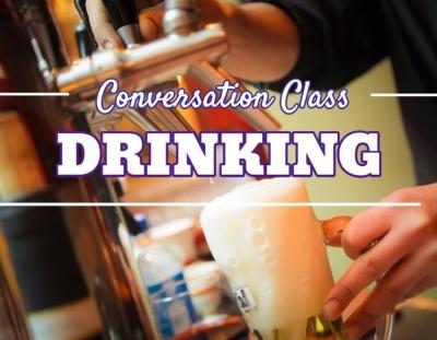 Clase de conversación sobre el alcohol