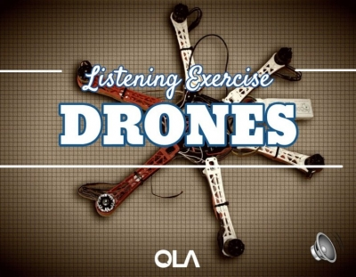 Ejercicio de listening sobre Drones