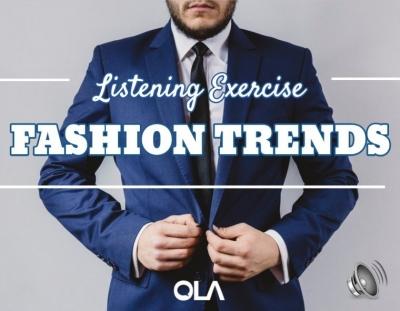 Ejercicio de listening sobre La Moda