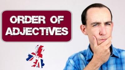 Aprende el orden de los adjetivos en inglés