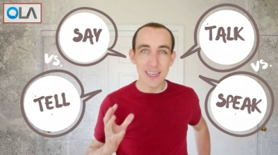 La diferencia entre Say, Tell, Speak y Talk