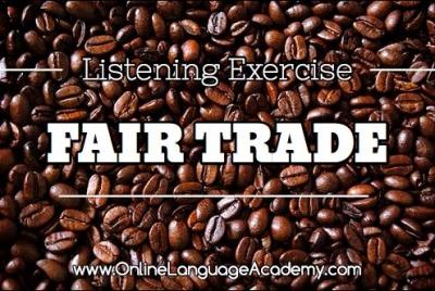 Ejercicio de listening sobre el comercio justo