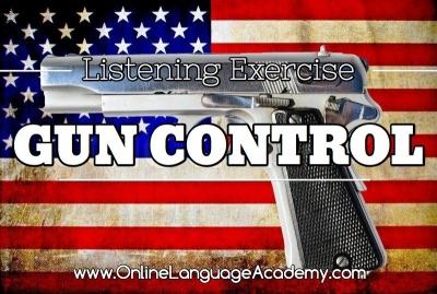 Ejercicio de listening sobre el control de armas