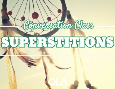 Clase de conversación sobre Superstitions