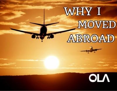 Por qué me mudé al extranjero